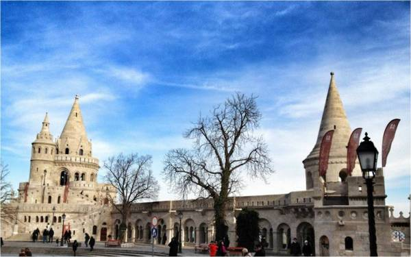 Fisherman's Bastion...