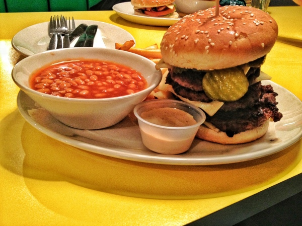 Empire State Challenge Burger
